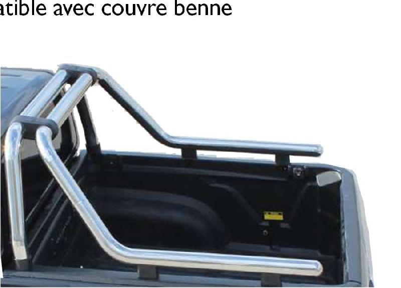CLDA automobiles accessoireROLL BAR INOX Diam 76 MUSSO