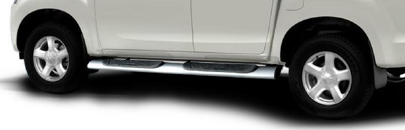 CLDA automobiles accessoireMarche-Pieds avec Logo D-Max EURO 6 forme Ovale pour Crew et Space