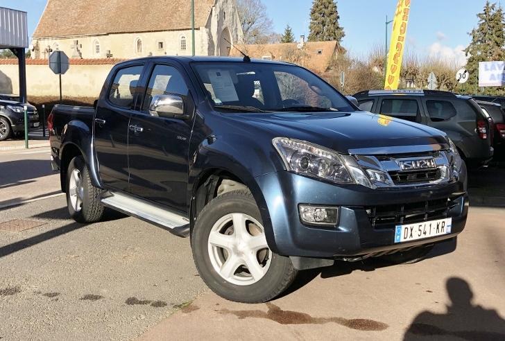 CLDA automobiles ISUZU  2,5L BiTDI SOLAR   Crew cab