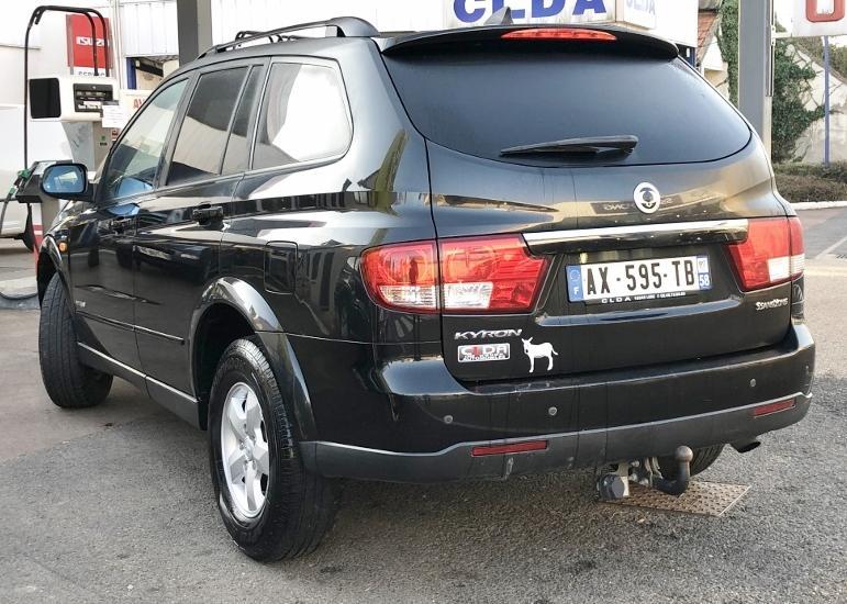 CLDA automobiles SSANGYONG  270 XDI 5 portes