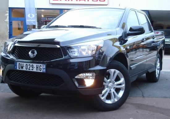 CLDA automobiles Ssangyong  2,2 eXDI 178 ch PACK SPORT Double Cabine BVA6