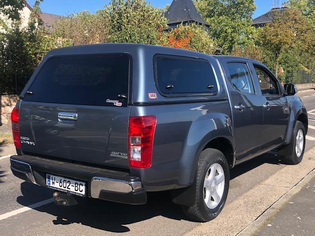 CLDA automobiles ISUZU  2,5L BiTDI SOLAR BV6 Double cabine