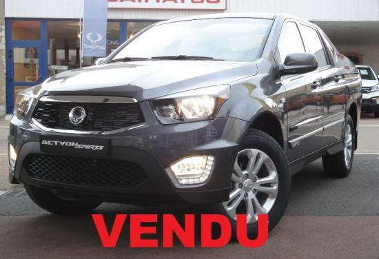 CLDA automobiles Ssangyong  2,2L eXDI 178 ch Pack Sports