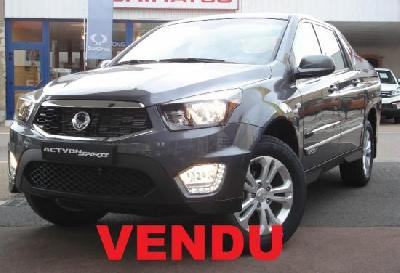 clda auto Ssangyong  2,2L eXDI 178 ch Pack Sports