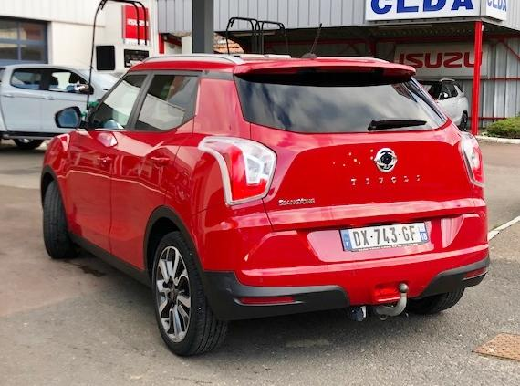 CLDA automobiles SSANGYONG  160 eXDI LIMITED 2WD