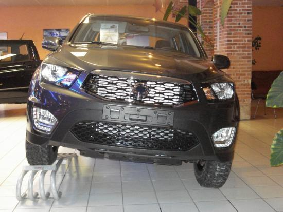 CLDA automobiles Ssangyong  220 eXDI 178 ch WARRIOR