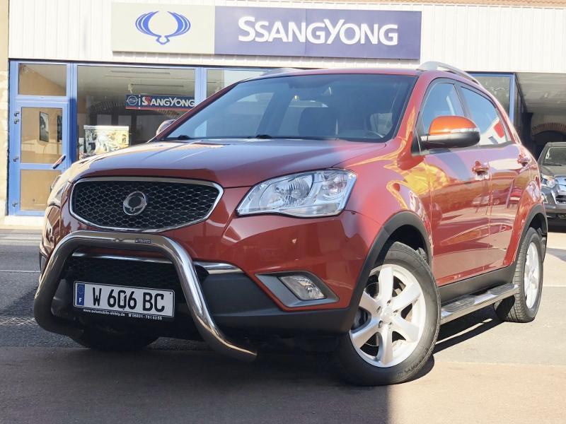 CLDA automobiles Ssangyong  2,0L eXDI 175 ch BVA