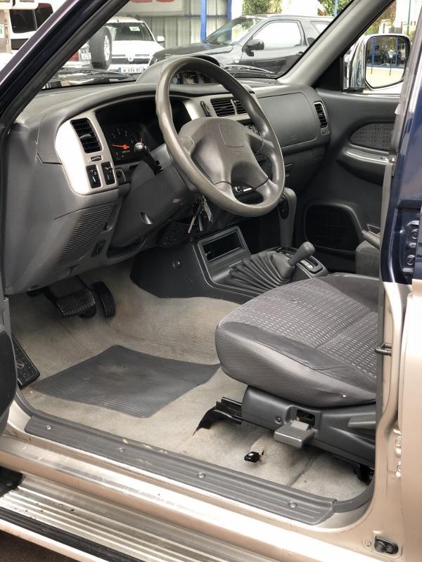 CLDA automobiles MITSUBISHI  2,5L TDI, Double Cabine, BVA